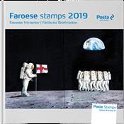 Faroer eiland - Jaarboek 2019 - Postfrisse serie van 5