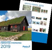 Faroer eiland - Jaarset 2019 - Postfrisse serie van 5