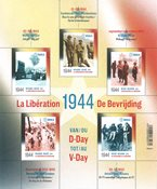 Belgium - D-Day 1944 - Mint souvenir sheet