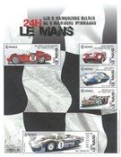 Belgium - 24 hours of Le Mans - Mint souvenir sheet