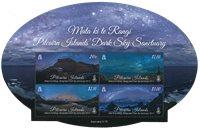 Pitcairn Øerne - Den mørke himmel - Postfrisk miniark