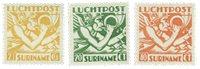 Surinam 1941 - NVPH LP15/17 - Neuf avec charnière