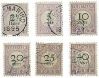 Suriname 1892-1896 - NVPH P9/14 - stemplet
