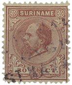 Suriname 1873-1889 - NVPH 11 - stemplet