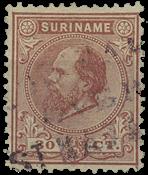 Surinam 1873-1889 - NVPH 11 - oblitéré