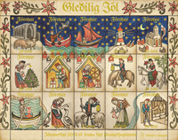 Faroe Islands - Christmas sheet 2019 - Christmas sheet