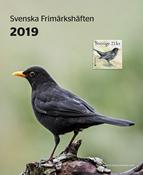 Zweden - jaarset boekje 2019 - Postfrisse serie van 5