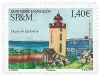 St. Pierre & Miquelon - Fyrtårne - Postfrisk frimærke