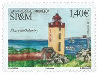 Saint Pierre and Miquelon - Lighthouses - Mint stamp
