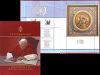 Vatikanet årbog 2007 - Årbog 2007 komplet med bog med skadet hjørne