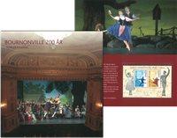 Danmark - Bournonville Ballet - Flot souvenirmappe