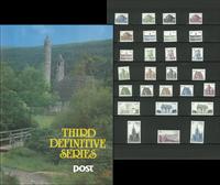 Irland - Dagligmærker 1982-1990 - Flot mappe med dagligmærker Særpris