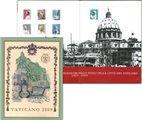 Vatikanet - Årbog 2009 - Årbog skade på hjørnet af bog. Spar 20%
