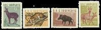 Albanie - 1962 Série neuve animaux