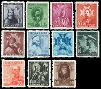 Roumanie - Série neuve 1938