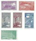 Rumænien - 1939 postfrisk sæt
