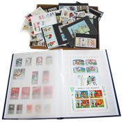 Various countries - Wonderbox with stockbook