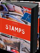 Indstiksbog STAMPS - A5 - rød - 32 sider