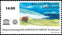 UNESCO: Aasivissuit-Nipisat - Postfrisk - Frimærke