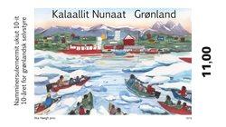10-året for selvstyre i Grønland - Postfrisk - Frimærke