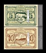 Old Gl. Banknotes III - Mint - Souvenir sheet