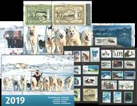 Grønland - Årsmappe 2019 - Stemplet årsmappe