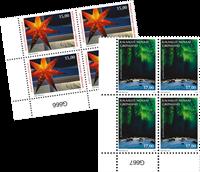 Julefrimærker 2019 - Postfrisk - 4-blok nedre marginal