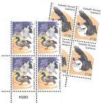 EUROPA - Nationale fugle - Postfrisk - 4-blok nedre marginal