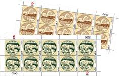 Gamle grl. pengesedler III - Postfrisk - Helark