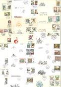 Tjekkoslovakiet - Ca. 200 førstedagskuverter med illustration