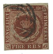 Danmark - 1854 4 RBS