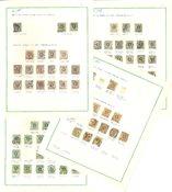 Sverige - Lot med diverse stemplede frimærker
