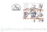 Estland 1995 - FDC - LAPE nr. 260-265