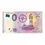 Leuchtturm billet-souvenir de zéro euro « Leuchtturm Roter Sand »
