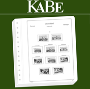 KABE Blank sheets Federal Republic of Germany for vending machine stamps self-adhesive