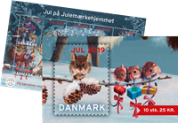 Denmark - Christmas Seals 2019 - Mint booklet of 10 stamps