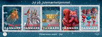 Denmark - Christmas seals - Mint sheet with oversized stamps