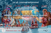 Denmark - Christmas Seals 2019 - Mint sheetlet
