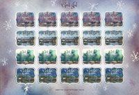 Åland Islands - Christmas seals sheet 2019 - Christmas Seal Sheet
