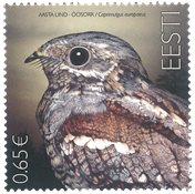 Estland - Natravn - Postfrisk frimærke