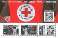 France - Croix Rouge - Bloc-feuillet neuf