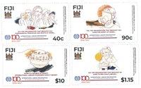 Îles Fidji - Centenaire de l'organisation des syndicats ILO - Série neuve 4v