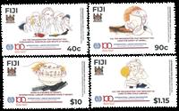 Îles Fidji - ILO, 100th ann. * - Timbre neuf