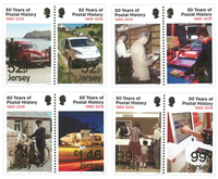 Jersey - Postal History 50th anniv * - Timbre neuf