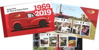 Jersey - 50 år posthistorie - Postfrisk prestigehæfte