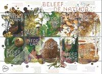 Holland - Træer og blade - Postfrisk ark