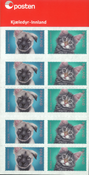Norge - Kæledyr - Postfrisk frimærkehæfte
