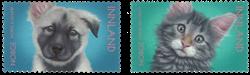Norvège - Animaux domestiques - Série neuve 2v