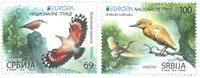 Serbie - Europa 2019 Oiseuax - Série neuve 2v