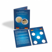 Coin card for 5 German 2-euro commemorative coins from Federal Council (2019)